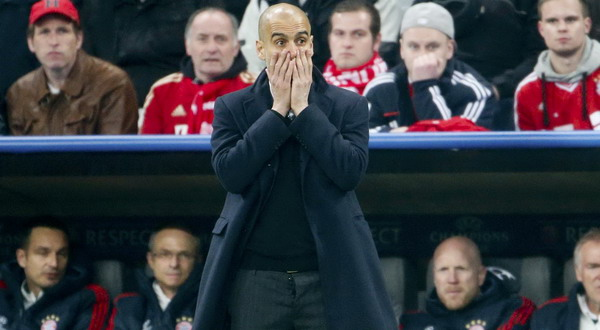 Pelatih Bayern Munich, Josep Guardiola (foto: Reuters)