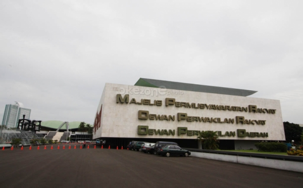 Ilustrasi Gedung DPR (Foto:Okezone)