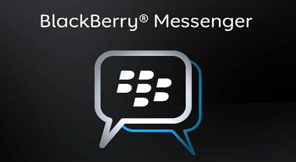 BlackBerry Messenger.