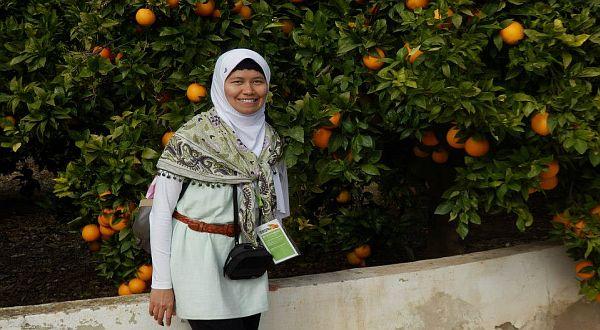 Foto : Prita Sari Dewi kembangkan varietas jeruk tanpa biji dan berbunga lebih cepat/Unsoed