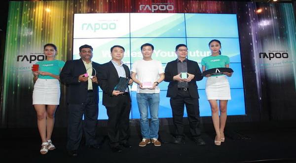 peluncuran jajaran lini produk peripheral Rapoo (foto: Ist)