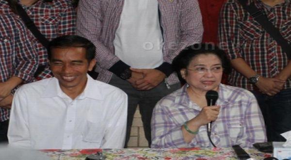 Jokowi dan Megawati Soekarnoputri (Foto: Heru Haryono/Okezone)