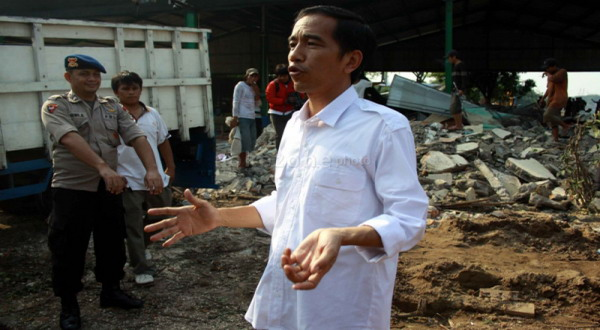 Tingkat Keterpilihan Jokowi Cenderung Menurun