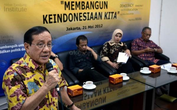 Akbar Tandjung (Foto:Okezone)