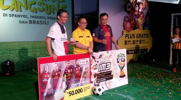 Indosat Bidik Komunitas Pecinta Sepakbola