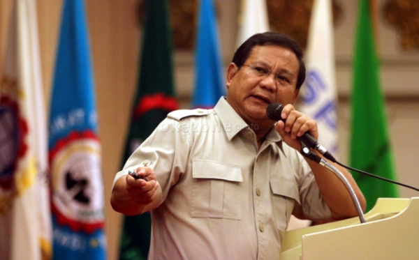 Prabowo Subianto (Foto: Okezone)