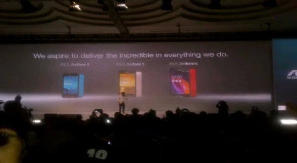Smartphone Asus 'Zenfone' Resmi Mendarat di Indonesia