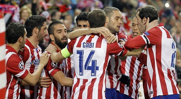 Atletico Madrid. (Foto: Daily Mail)
