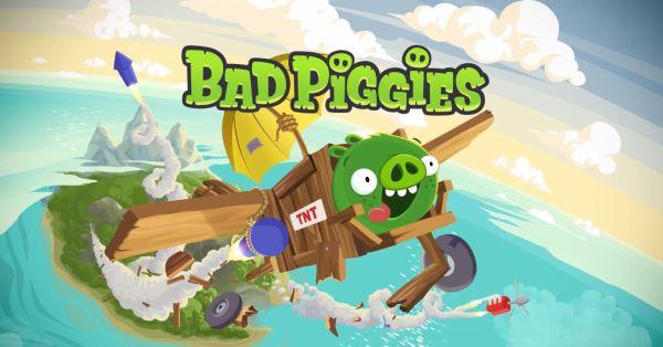 Game Bad Piggies. (kredit: Rovio)