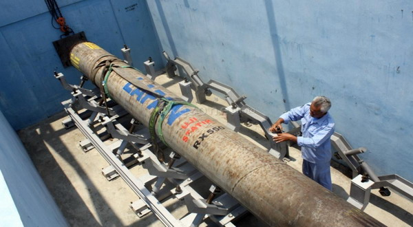 Roket buatan Lapan (foto: Okezone)