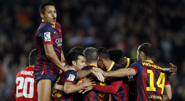 Barcelona jaga asa raih titel La Liga (Foto: Albert Gea/REUTERS)