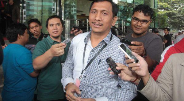 Gede Pasek saat bertandang ke Gedung KPK (Foto: Dok Okezone)