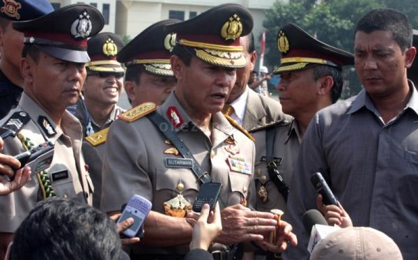 Kapolri Jenderal Pol Sutarman (Foto:Okezone)