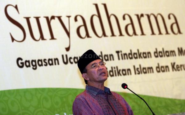 Suryadharma Ali (Foto: Okezone)