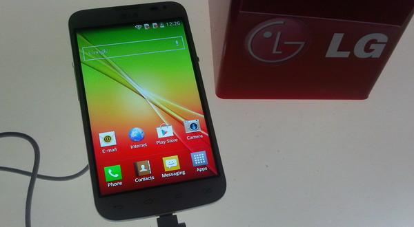 LG L Series III (foto: Luthfi/Okezone)