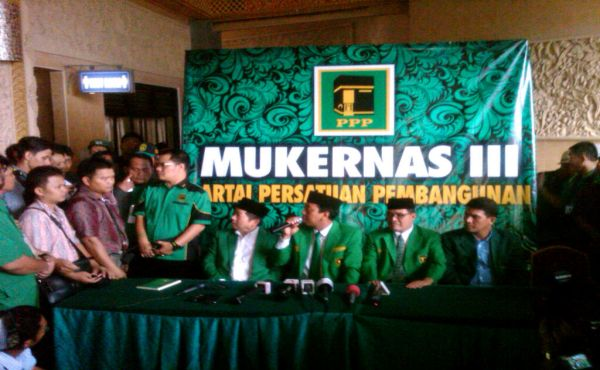 Mukernas III PPP di Bogor (Foto: Yudhi Maulana/Okezone)