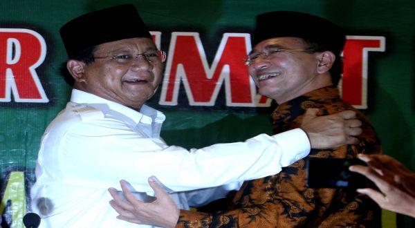 Prabowo dan Suryadharma Ali (Foto: Heru Haryono/Okezone)