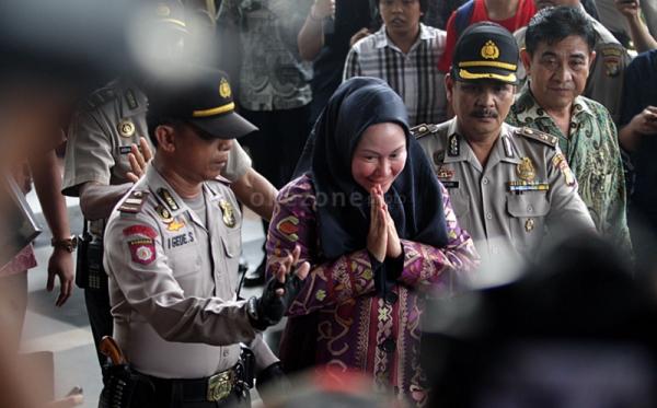 Gubernur Banten Ratu Atut Chosiyah (Foto: Heru/Okezone)