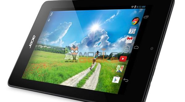 Tablet Acer Terbaru Diperkuat Prosesor Intel