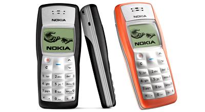Nokia 1100.