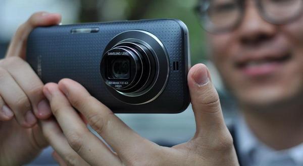 Samsung Kamera K Zoom (foto: Cnet)
