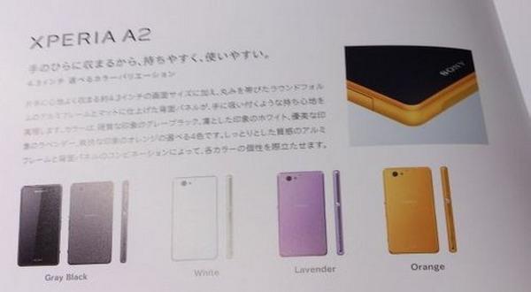 Bocoran Sony Xperia A2 (foto:ubergizmo)