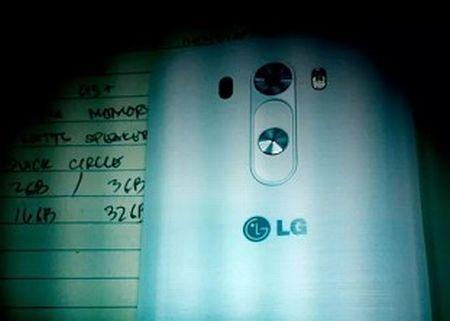 Bocoran casing belakang LG G3.