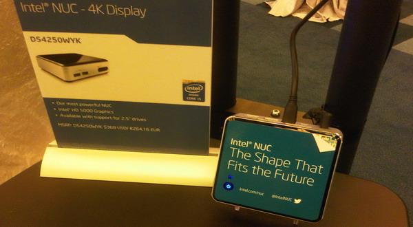 Intel Nuc 4K (foto: Luthfi/Okezone)