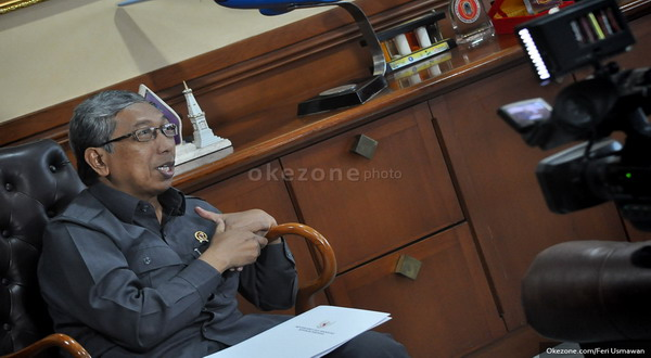 Menristek Gusti Muhammad Hatta (foto: Feri Usmawan/Okezone)