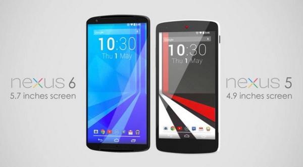 Konsep Nexus 6 Terinspirasi dari HTC
