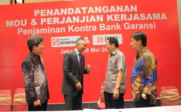 Asuransi Sinar Mas Gaet BNI Jamin Bank Garansi : Okezone Economy