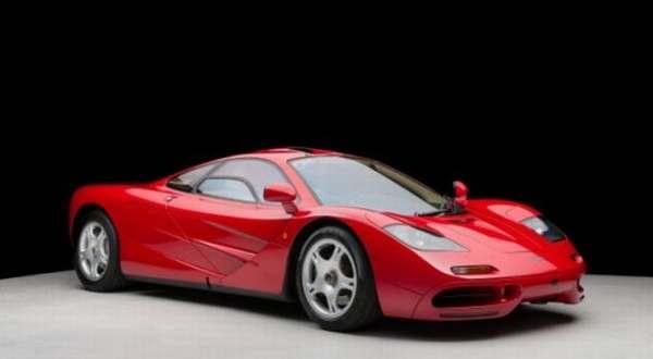 McLaren F1 Merah Terjual Rp115,7 M