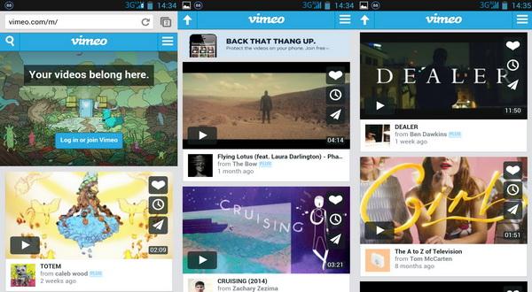 Situs Vimeo diblokir tetapi masih bisa diakses