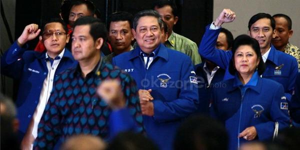 Ketua Umum Partai Demokrat Susilo Bambang Yudhoyono (SBY)