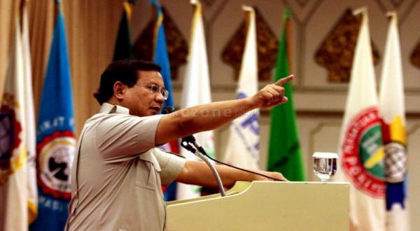 Prabowo Sebut Amien Rais Guru Politiknya