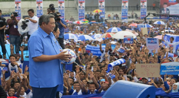 SBY Akui Suara Demokrat Jeblok Lantaran Korupsi
