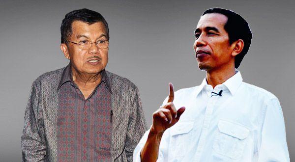 Joko Widodo-Jusuf Kalla (Foto: Okezone)