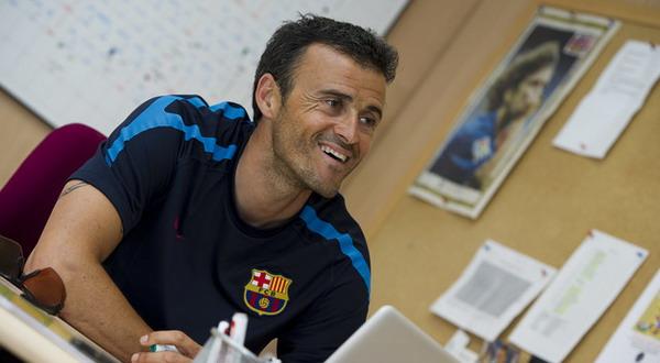 Luis Enrique. (Foto: FC Barcelona)