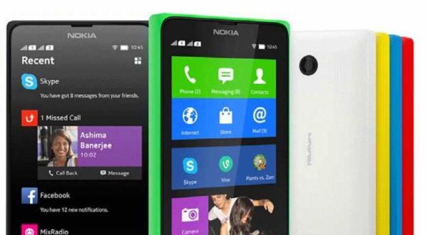 Smartphone Nokia X 2 Bakal Diluncurkan