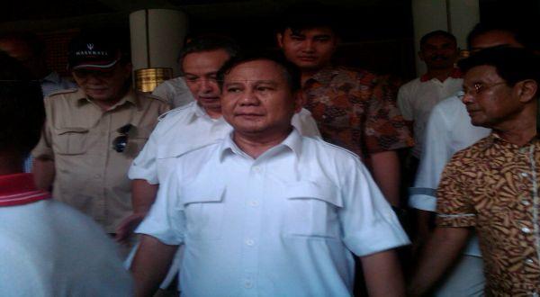 Prabowo Subianto (Foto: Yudhi Maulana/Okezone)