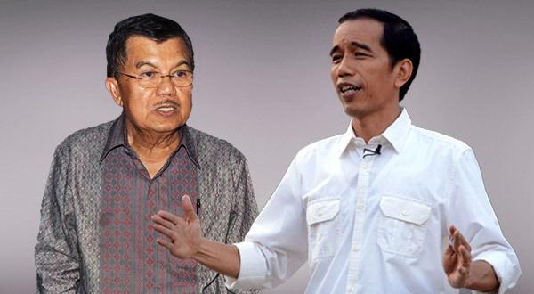 Jokowi-JK Tiba di RSPAD untuk Tes Kesehatan