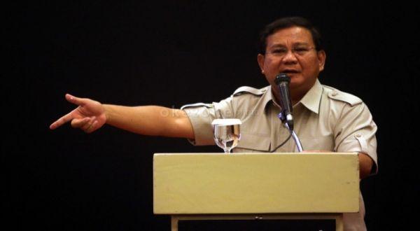 Prabowo Subianto (Foto: Dok. Okezone)
