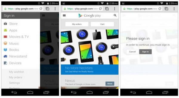 Lebih Menawan, Google Play Update Tampilan