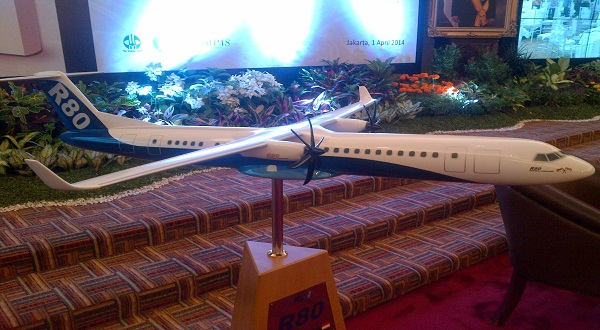 Pesawat R80 (Foto: Okezone)