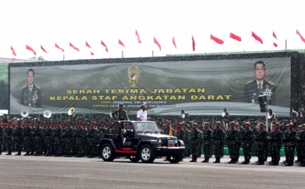 KSAD Tegaskan TNI Netral di Pilpres 2014