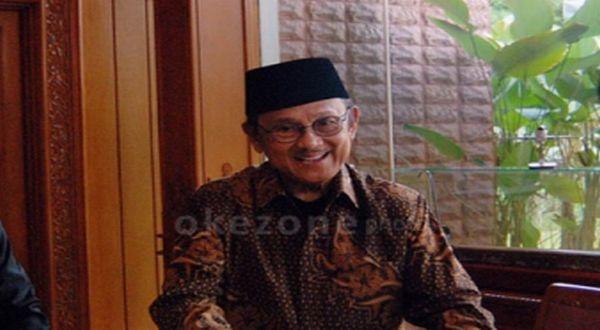 BJ Habibie (Foto: Dok. Okezone)