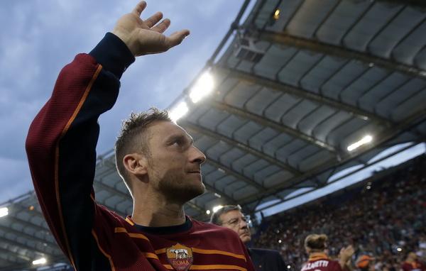 Francesco Totti. (Foto: Reuters)