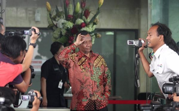 Mantan Ketua Mahkamah Konsitutusi Mahfud MD (Foto: Okezone)