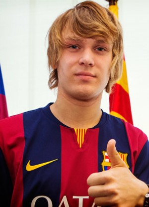 Alen Halilovic (Foto: FCBarcelona.com)