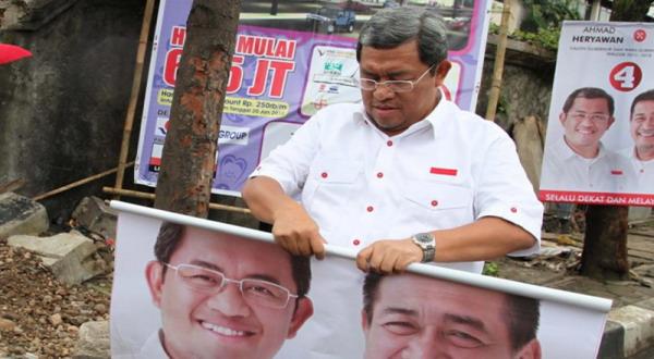 Aher Dilantik Jadi Ketua Tim Pemenangan Prabowo di Jabar